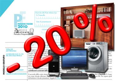 Oneri deducibili pagina 2 informazione fiscale for Detrazione acquisto mobili
